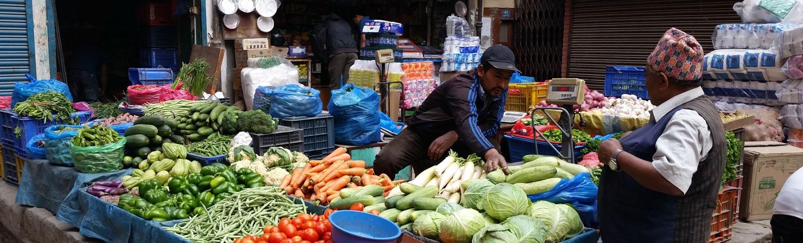 Old market tour of Kathmandu