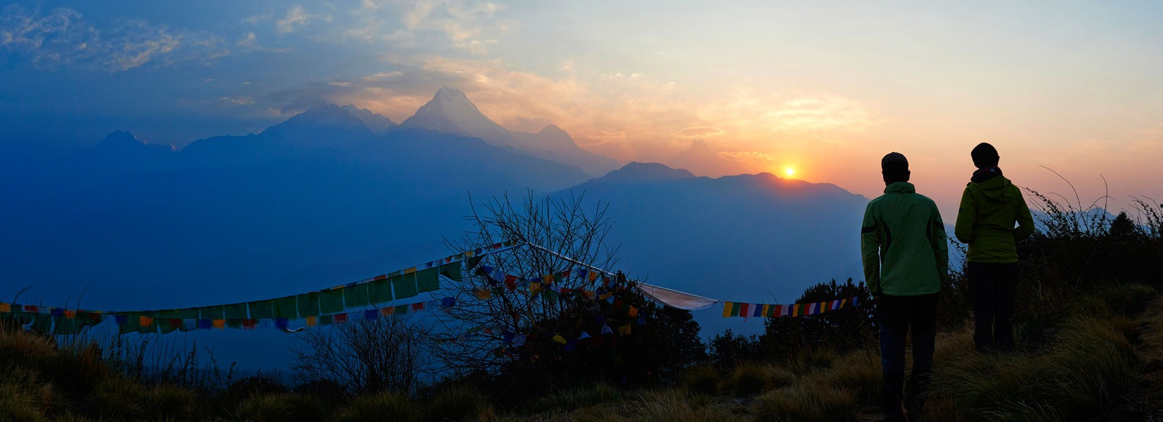 Sunrise View from Poon Hill