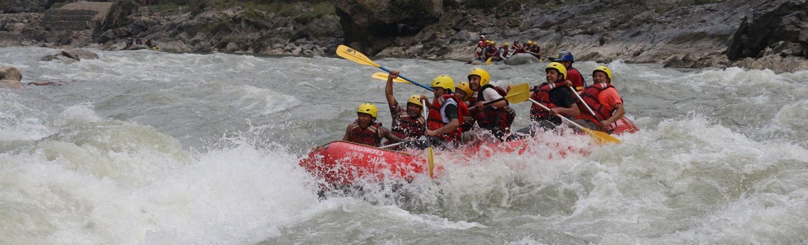 River Rafting in Nepal